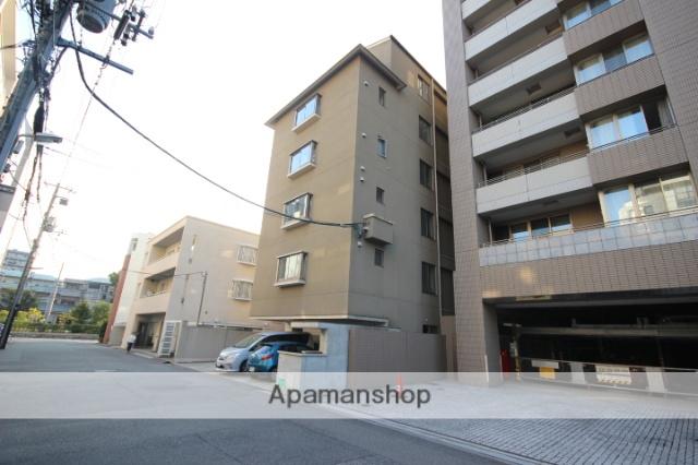 広島県広島市中区、縮景園前駅徒歩3分の築8年 6階建の賃貸マンション