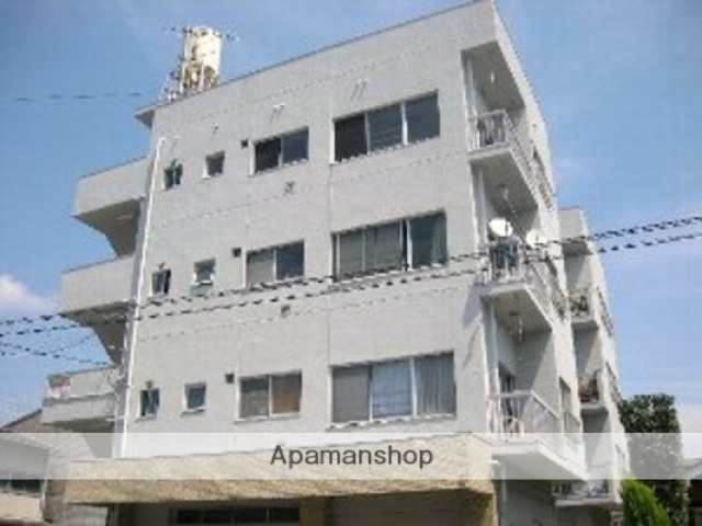 広島県広島市西区、古江駅徒歩3分の築41年 4階建の賃貸マンション