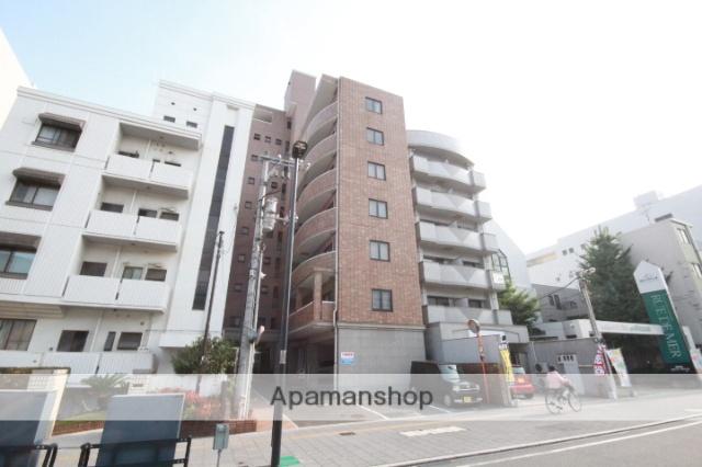 広島県広島市南区、元宇品口駅徒歩4分の築15年 10階建の賃貸マンション
