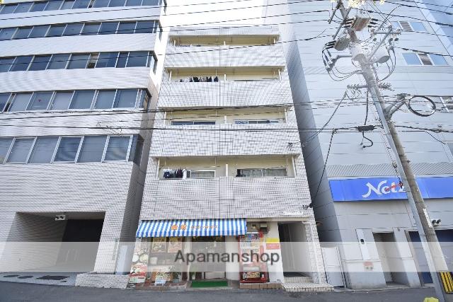 広島県広島市中区、土橋駅徒歩9分の築44年 5階建の賃貸マンション