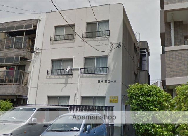 広島県広島市西区、古江駅徒歩10分の築31年 3階建の賃貸マンション