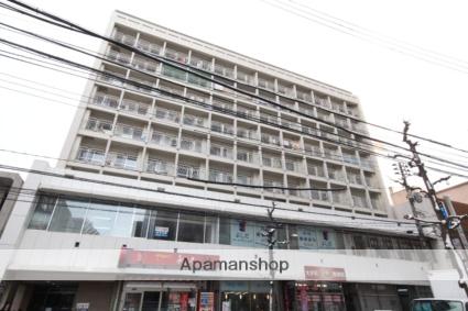 広島県広島市中区、鷹野橋駅徒歩5分の築38年 10階建の賃貸マンション