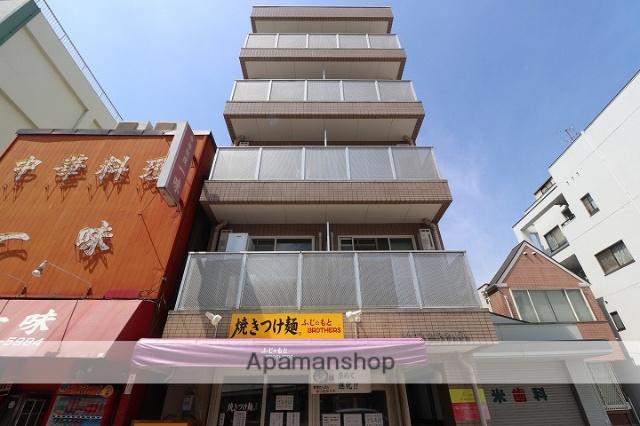 広島県広島市中区、御幸橋駅徒歩2分の築21年 5階建の賃貸マンション