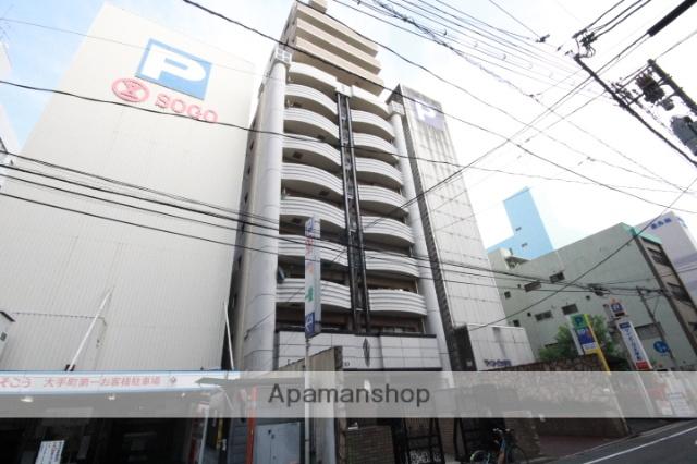 広島県広島市中区、本通駅徒歩4分の築22年 14階建の賃貸マンション