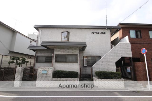 広島県広島市中区、新白島駅徒歩10分の築32年 2階建の賃貸アパート