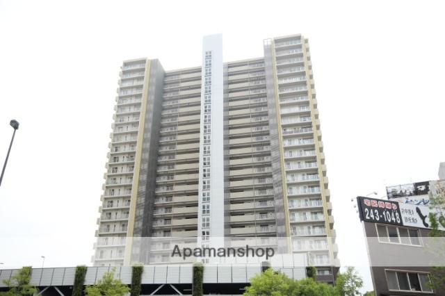 広島県広島市中区、広電本社前駅徒歩7分の築9年 24階建の賃貸マンション