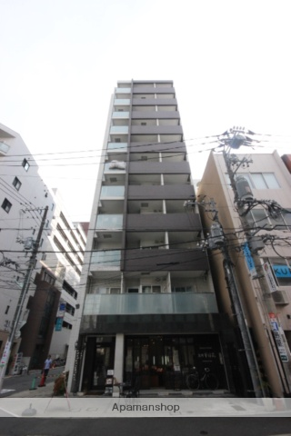 広島県広島市中区、本通駅徒歩3分の築9年 11階建の賃貸マンション
