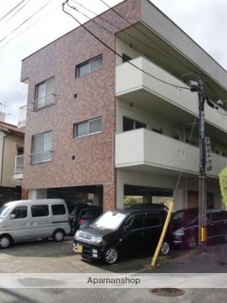 広島県広島市西区、横川駅徒歩16分の築36年 3階建の賃貸アパート