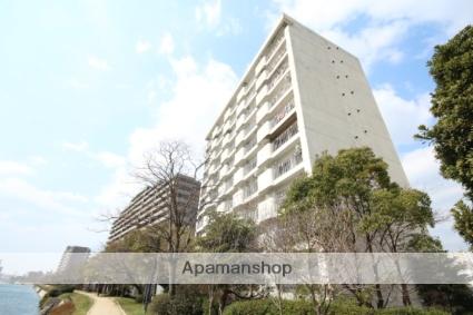 広島県広島市中区、広電本社前駅徒歩5分の築36年 11階建の賃貸マンション