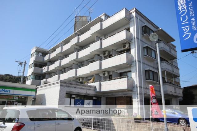 広島県広島市西区、西広島駅徒歩6分の築27年 5階建の賃貸マンション