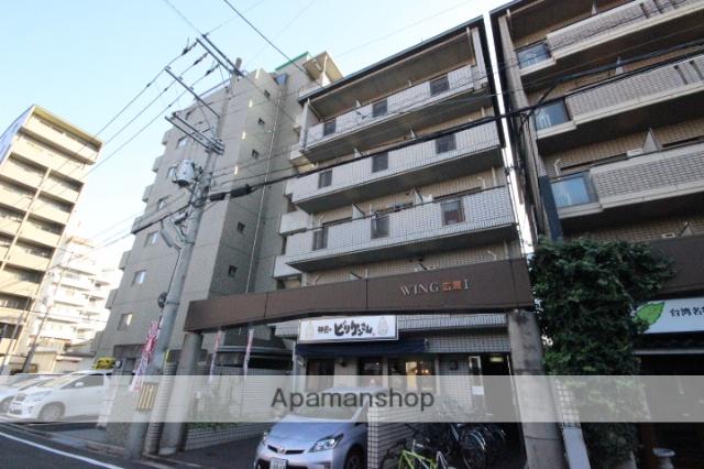 広島県広島市中区、本通駅徒歩20分の築25年 5階建の賃貸マンション