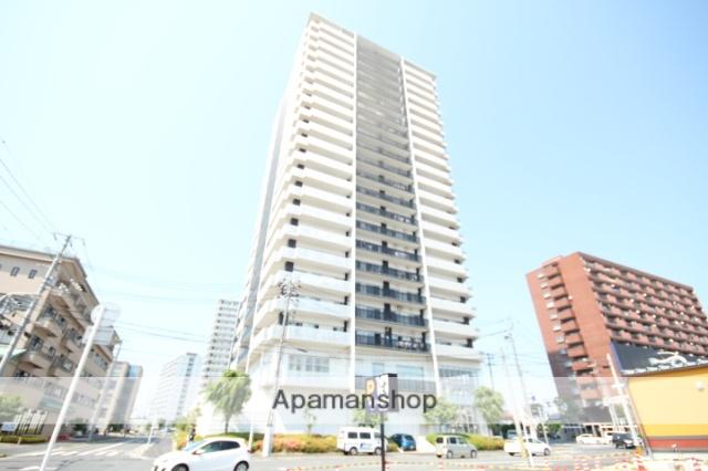 広島県広島市南区、宇品四丁目駅徒歩8分の築9年 22階建の賃貸マンション