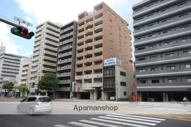 広島県広島市中区、別院前駅徒歩7分の築15年 11階建の賃貸マンション