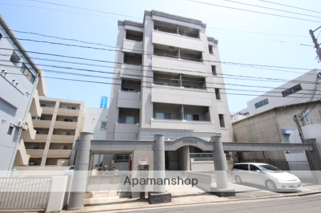 広島県広島市西区、横川駅駅徒歩7分の築12年 5階建の賃貸マンション