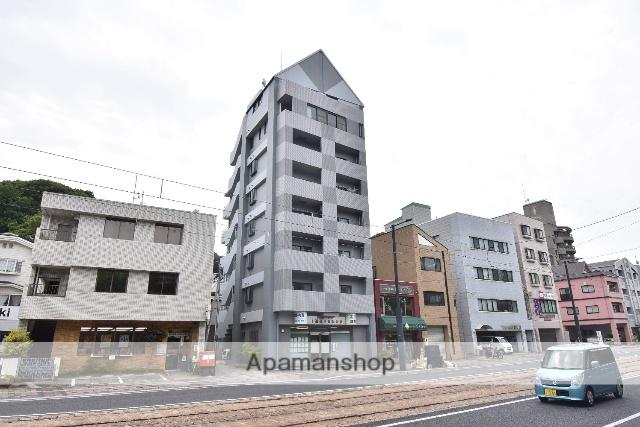 広島県広島市南区、広島駅徒歩21分の築21年 7階建の賃貸マンション