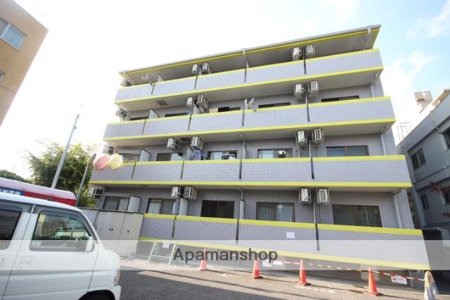 広島県広島市東区、白島駅徒歩10分の築21年 4階建の賃貸マンション