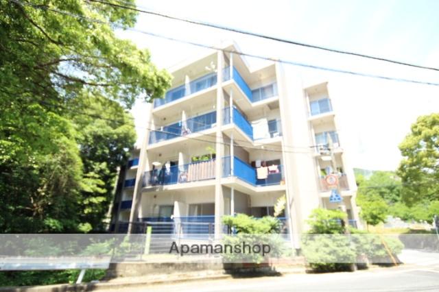 広島県広島市西区、横川駅徒歩19分の築42年 4階建の賃貸マンション
