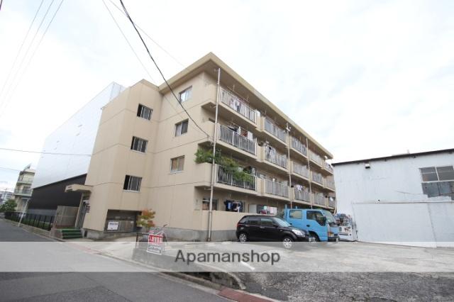 広島県広島市西区、天満町駅徒歩11分の築31年 4階建の賃貸マンション
