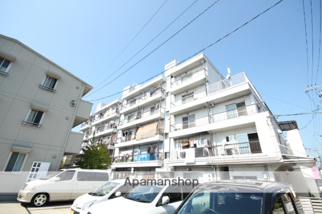広島県広島市中区、日赤病院前駅徒歩18分の築36年 3階建の賃貸マンション