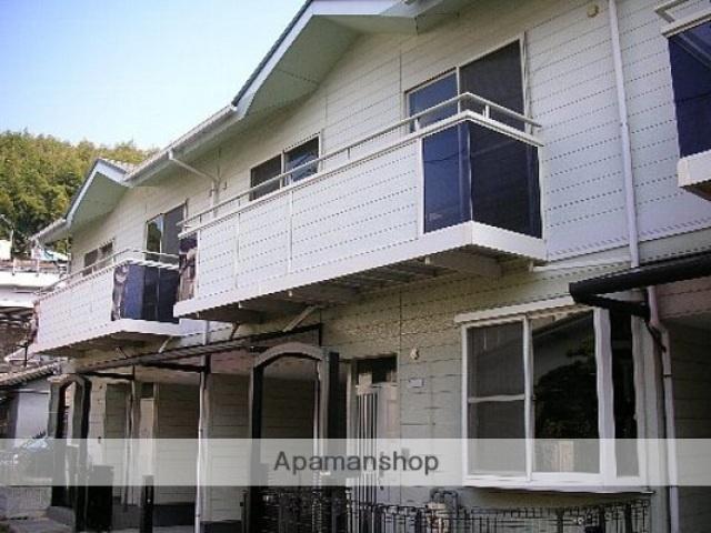 広島県広島市西区、広電西広島(己斐)駅徒歩12分の築21年 2階建の賃貸テラスハウス