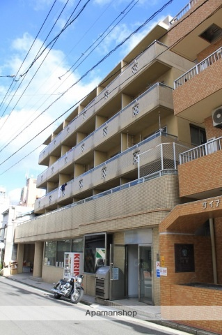広島県広島市西区、西広島駅徒歩7分の築28年 5階建の賃貸マンション