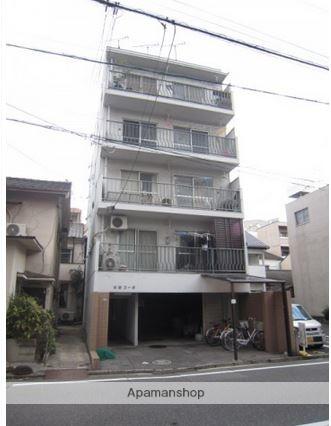 広島県広島市中区、本川町駅徒歩7分の築37年 5階建の賃貸マンション