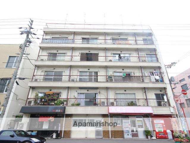 広島県広島市中区、舟入本町駅徒歩7分の築37年 5階建の賃貸マンション