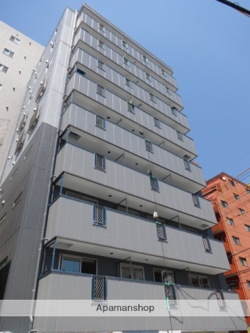 広島県広島市中区、土橋駅徒歩7分の築1年 9階建の賃貸マンション