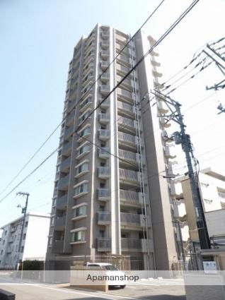 広島県広島市中区、新白島駅徒歩3分の築4年 15階建の賃貸マンション