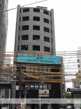 広島県広島市中区、白島駅徒歩1分の築22年 9階建の賃貸マンション