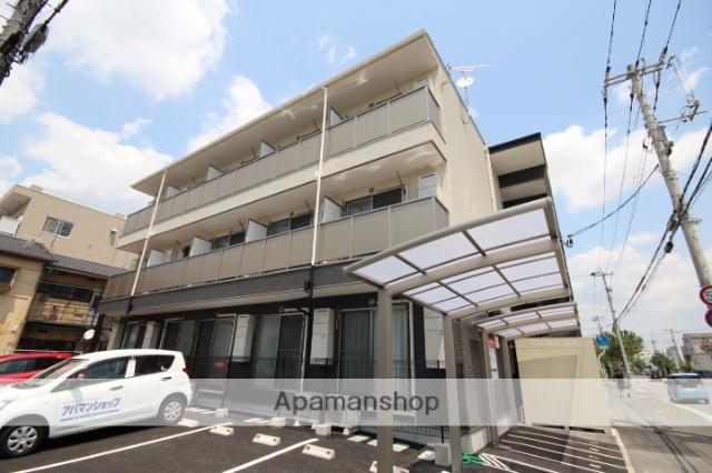 広島県広島市南区、広島港(宇品)駅徒歩11分の新築 3階建の賃貸アパート