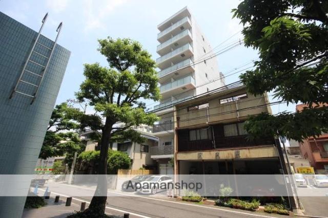 広島県広島市中区、横川駅徒歩18分の築1年 9階建の賃貸マンション