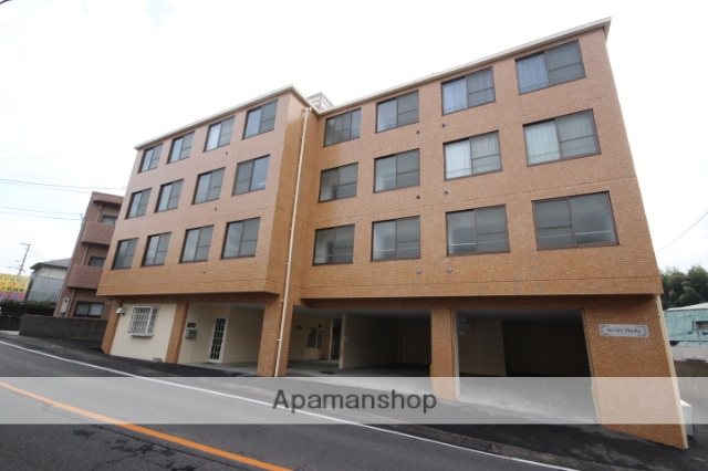 広島県広島市東区、戸坂駅徒歩15分の築29年 4階建の賃貸マンション