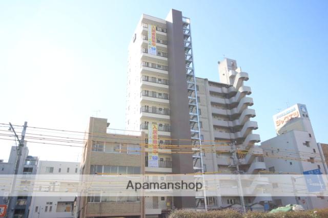 広島県広島市中区、本通駅徒歩20分の新築 13階建の賃貸マンション