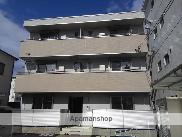 広島県広島市西区、西広島駅徒歩16分の新築 3階建の賃貸アパート