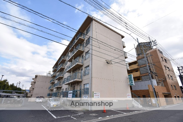 広島県広島市中区、御幸橋駅徒歩14分の築46年 5階建の賃貸マンション