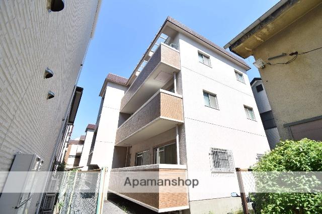 広島県広島市中区、御幸橋駅徒歩9分の築28年 3階建の賃貸マンション