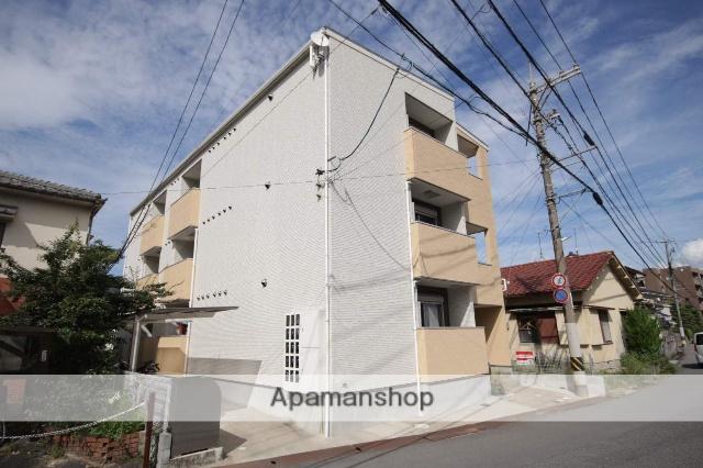 広島県広島市安佐南区、大町駅徒歩9分の新築 3階建の賃貸アパート