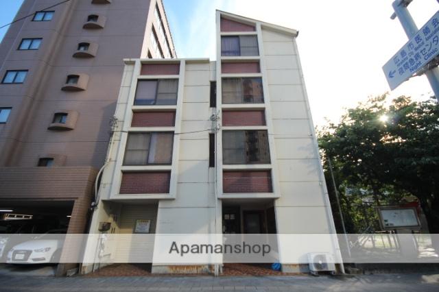 広島県広島市中区、御幸橋駅徒歩1分の築36年 4階建の賃貸マンション