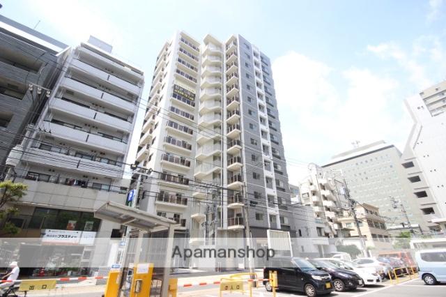 広島県広島市中区、市役所前駅徒歩8分の新築 14階建の賃貸マンション