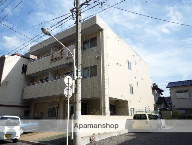 広島県広島市南区、宇品二丁目駅徒歩6分の築28年 3階建の賃貸マンション