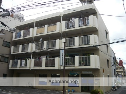 広島県広島市中区、原爆ドーム前駅徒歩5分の築32年 4階建の賃貸マンション