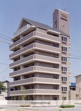 広島県広島市南区、宇品五丁目駅徒歩7分の築24年 8階建の賃貸マンション