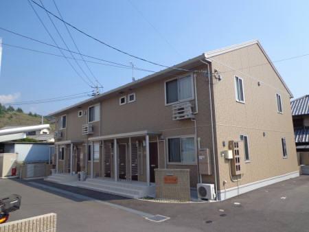 広島県安芸郡府中町の築5年 2階建の賃貸アパート
