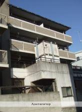 広島県広島市西区、観音町駅徒歩7分の築20年 4階建の賃貸マンション