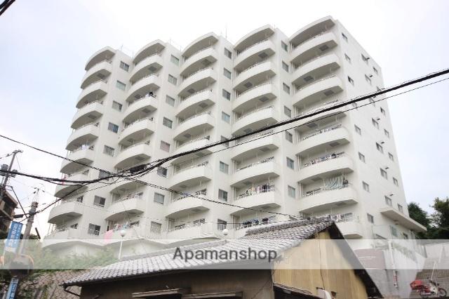 広島県広島市西区、東高須駅徒歩11分の築37年 8階建の賃貸マンション