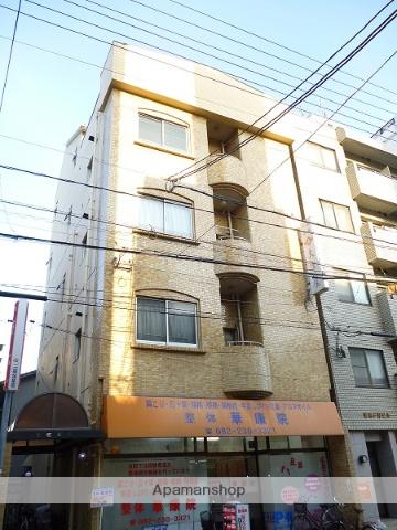 広島県広島市西区、横川駅徒歩4分の築36年 4階建の賃貸マンション