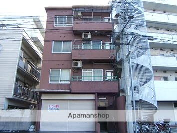広島県広島市西区、横川駅徒歩7分の築37年 4階建の賃貸マンション