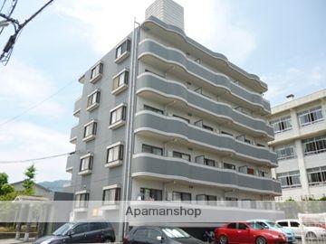 広島県広島市安佐南区、西原駅徒歩13分の築23年 5階建の賃貸マンション