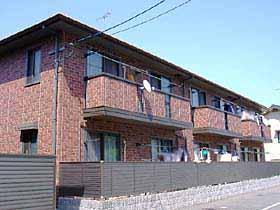 広島県広島市安佐南区、大町駅徒歩16分の築14年 2階建の賃貸アパート